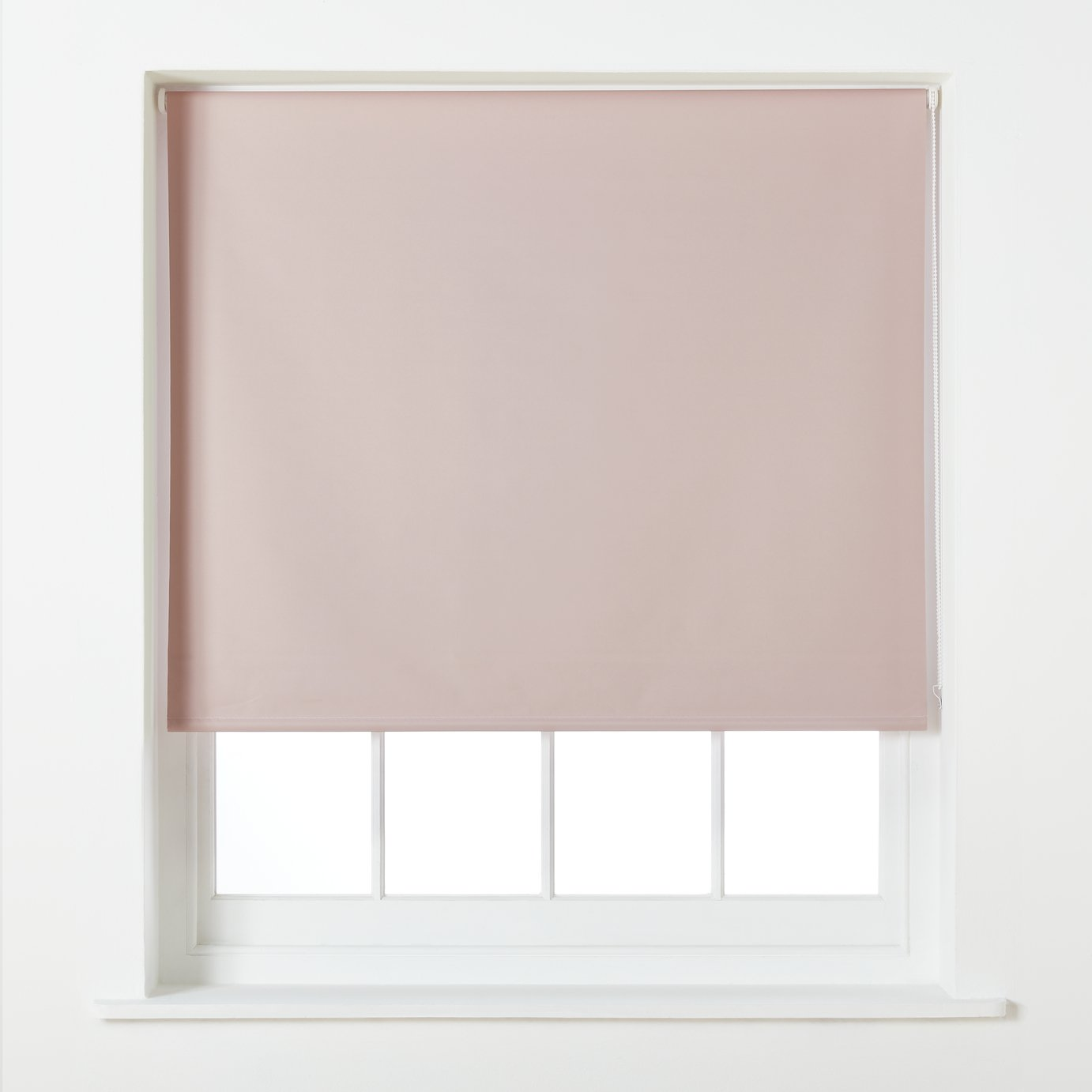 Argos Home Blackout Roller Blind - 4ft - Blush