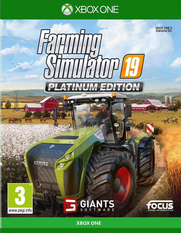 Farming Simulator 19 Platinum Edn Xbox One Pre-Order Game