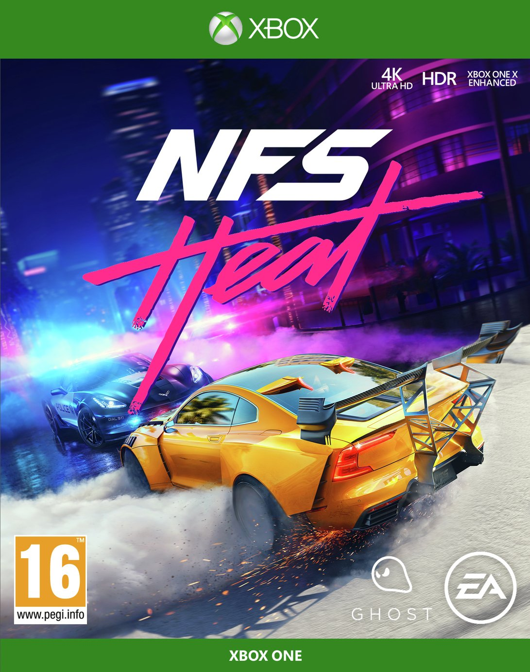 Need for Speed: Heat Xbox One Game