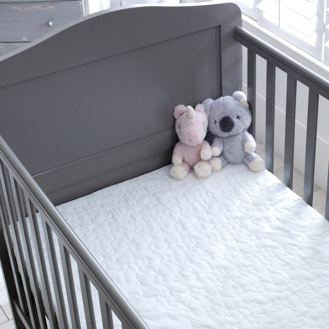 Little Slumbers Contentment Cotbed Mattress and Cover