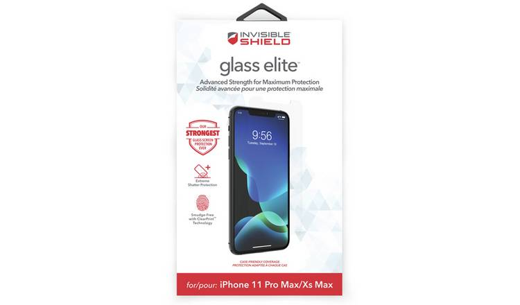 InvisibleShield Glass Elite iPhone XS Max/11 Pro Max Screen