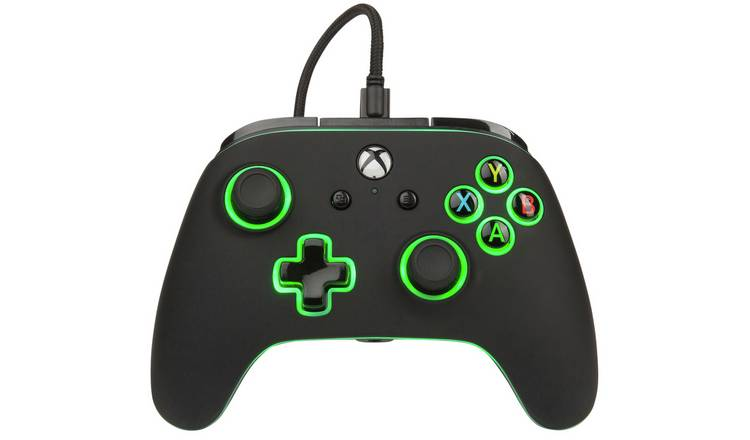 PowerA Xbox Spectra Enhanced Wired Controller: 7 color LED