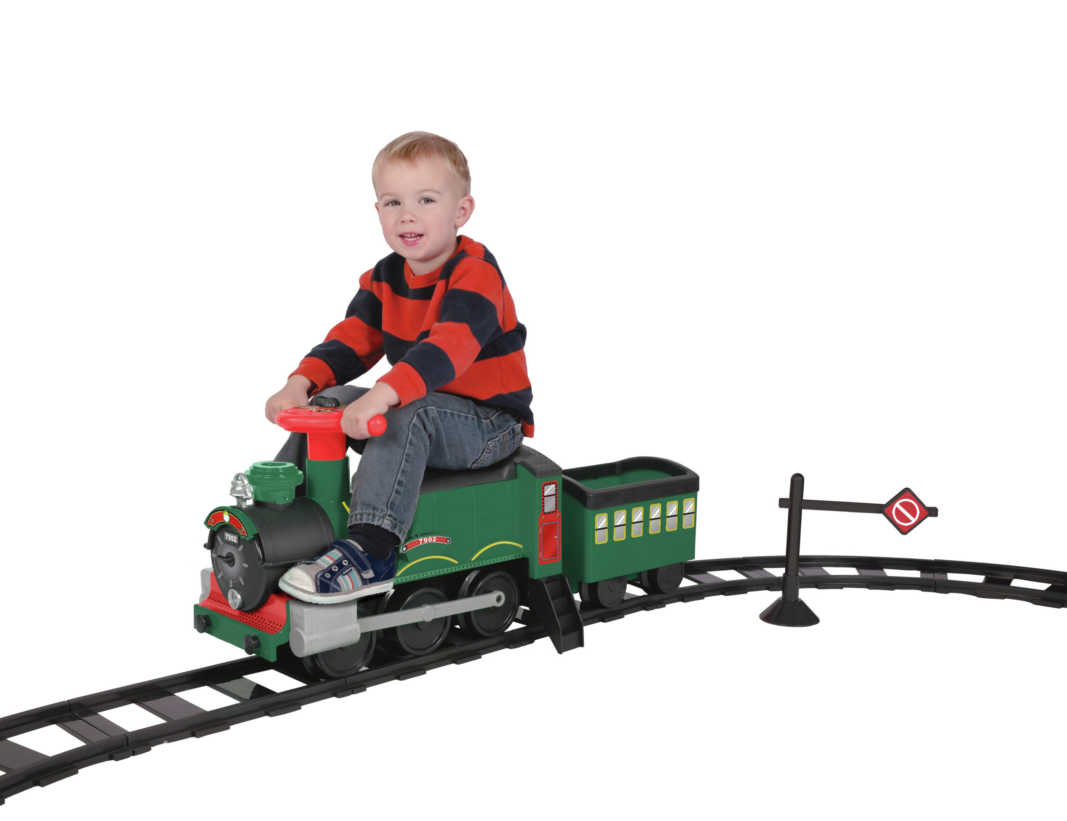Buy Chad Valley 6v Powered Ride On Train And Track Set Battery