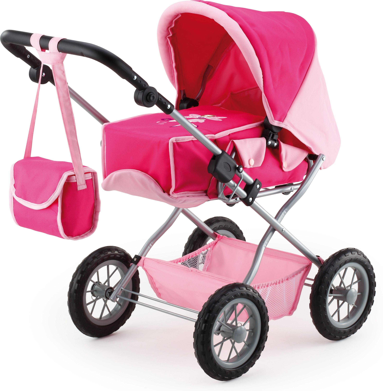 Image of Bayer Combi Grande Doll's Pram - Pink