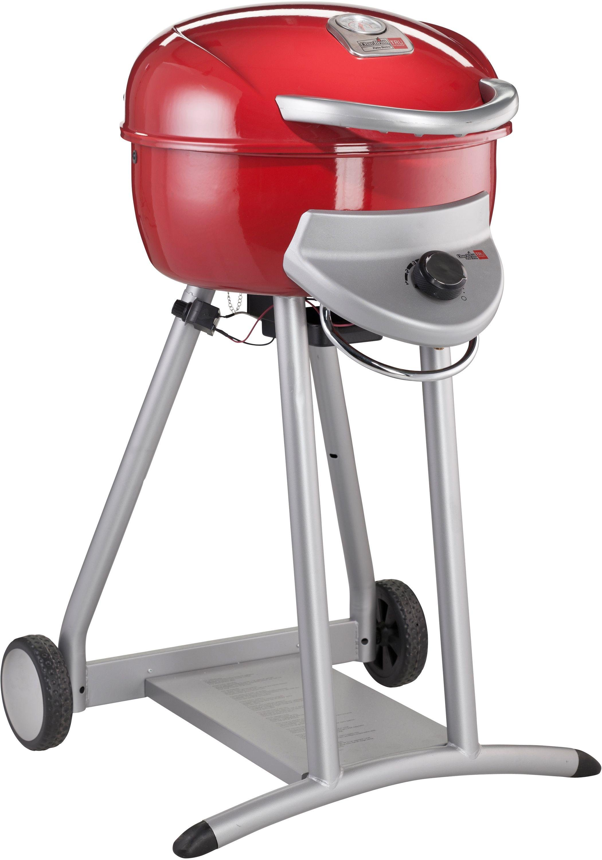 Image of Char-Broil Patio Bistro 240 - Single Burner Gas BBQ - Red
