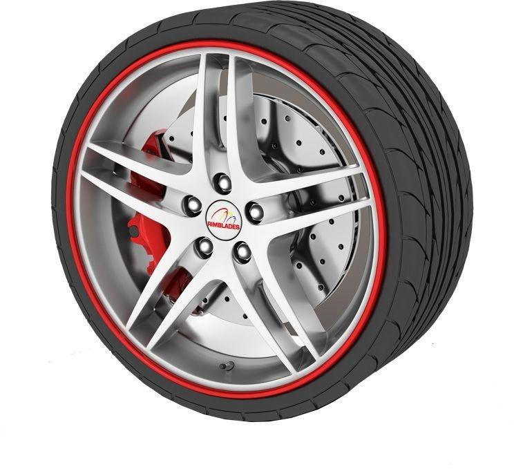Rimblades Alloy Wheel Protectors - Red