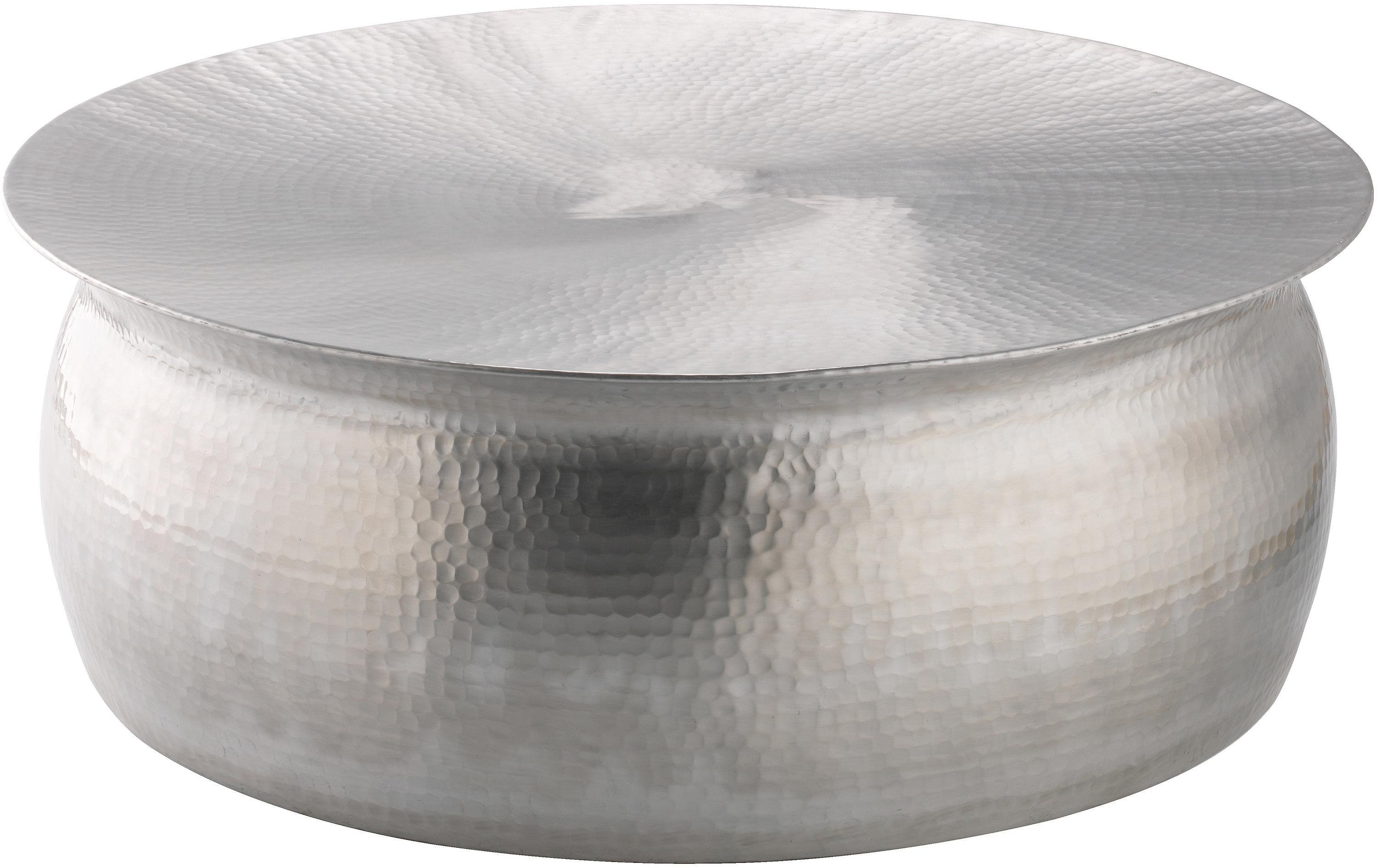 Habitat Orrico Coffee Table - Hammered Aluminium