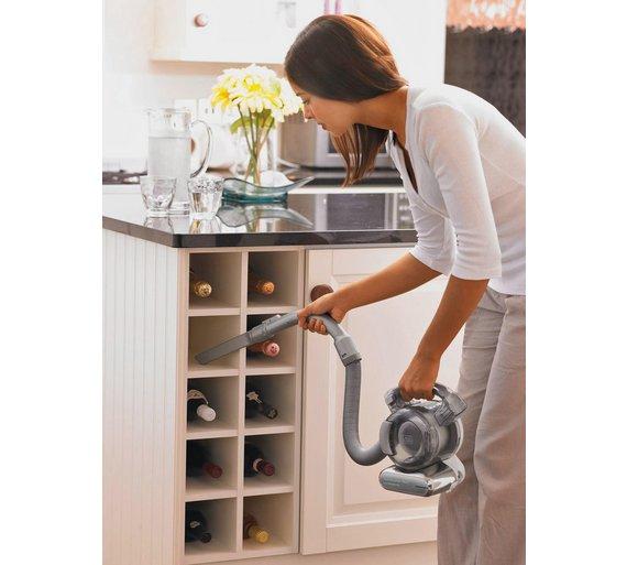 Buy black decker pd1820lgb flexi handheld vacuum cleaner for Casier a bouteille pour cuisine amenagee