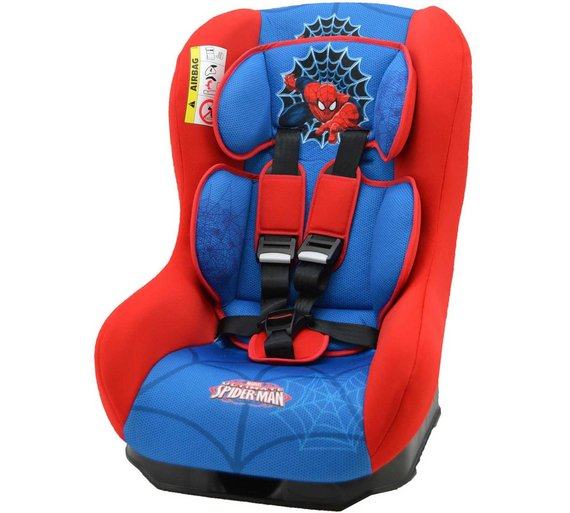 buy marvel spider man driver car seat blue at your online shop for car seats. Black Bedroom Furniture Sets. Home Design Ideas