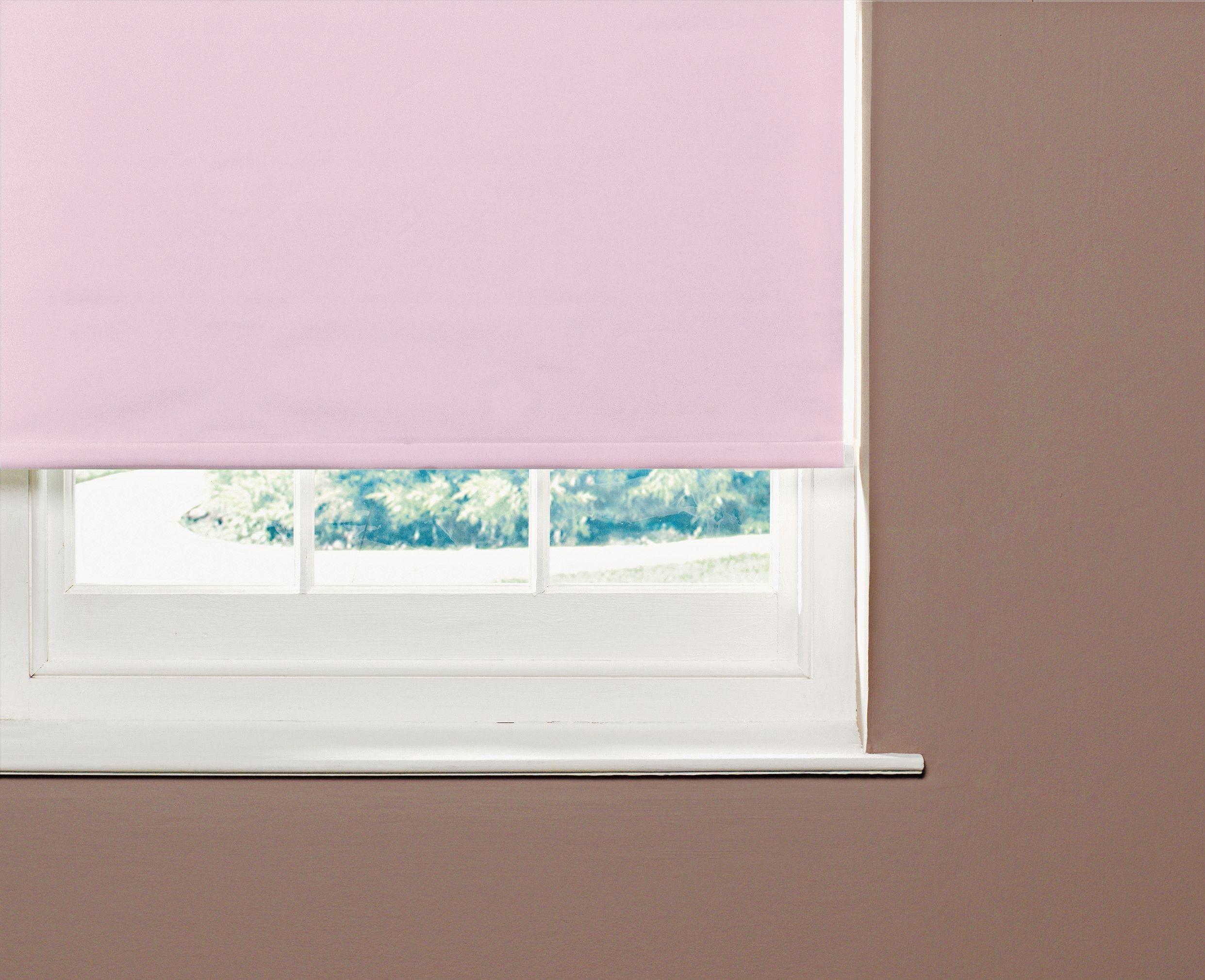 Image of ColourMatch Blackout Roller Blind - 5ft - Bubblegum Pink