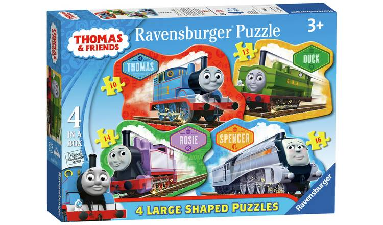 Ravensburger Thomas & Friends Large 4 Shaped Jigsaw Puzzles