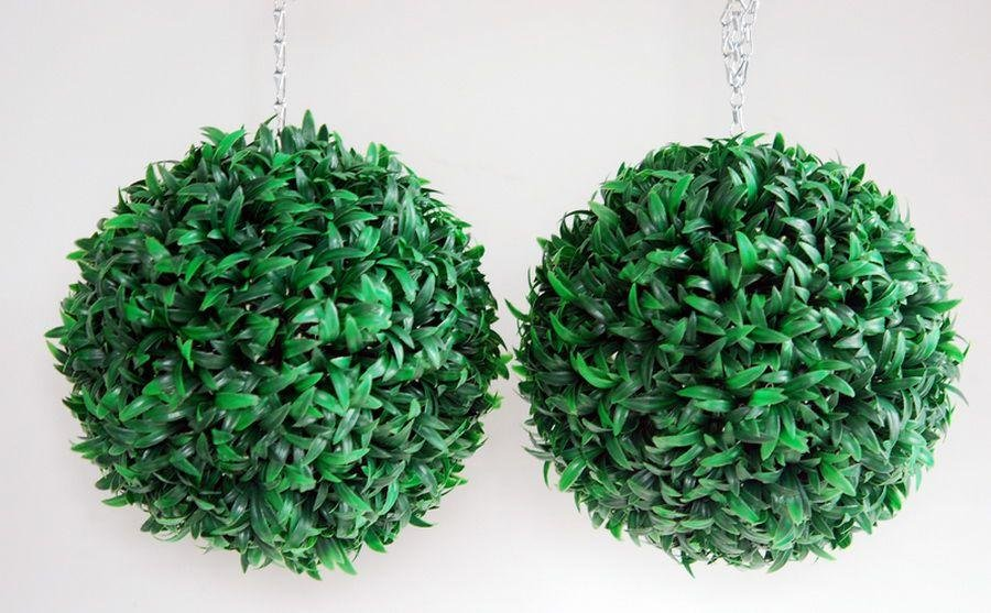 Artificial - Art Baby Topiary Grass Balls - Pack of 2