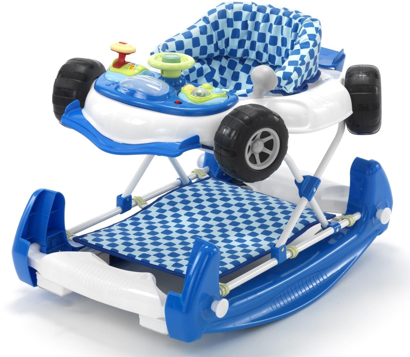 MyChild Car 2-in-1 Baby Walker - Blue