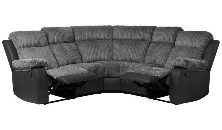 Buy Argos Home Bradley Corner Fabric Recliner Sofa