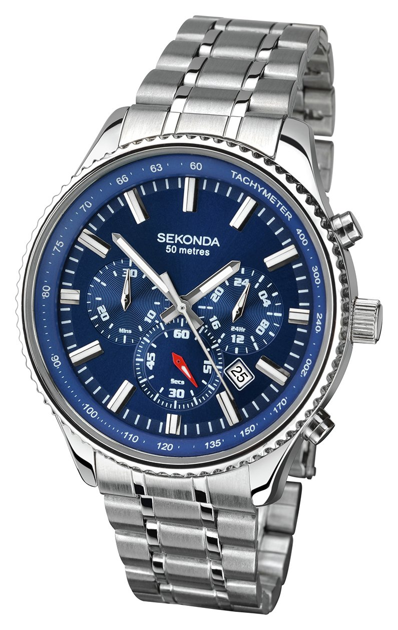 Sekonda - Mens Chronograph Bracelet - Watch