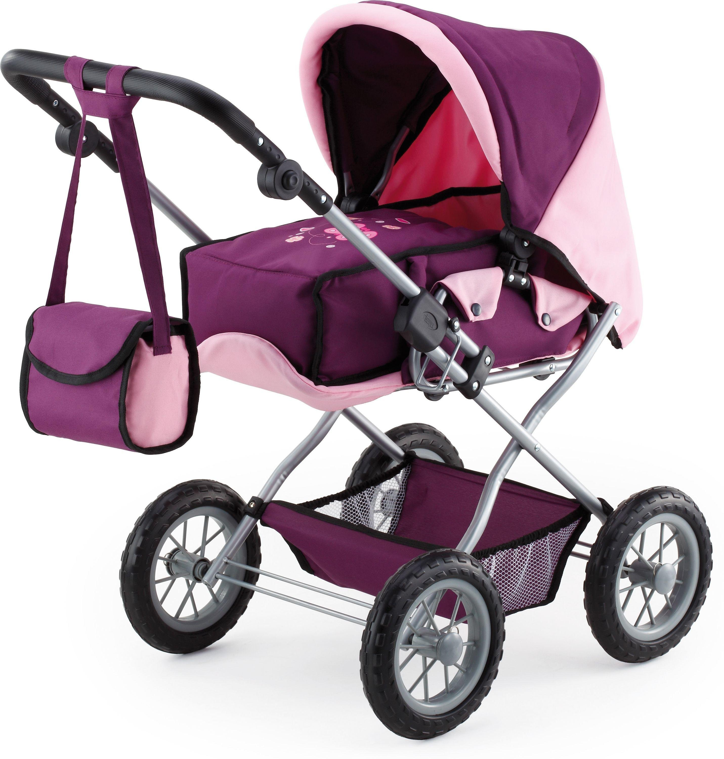 Image of Bayer - Combi Grande Doll's Pram - Plum