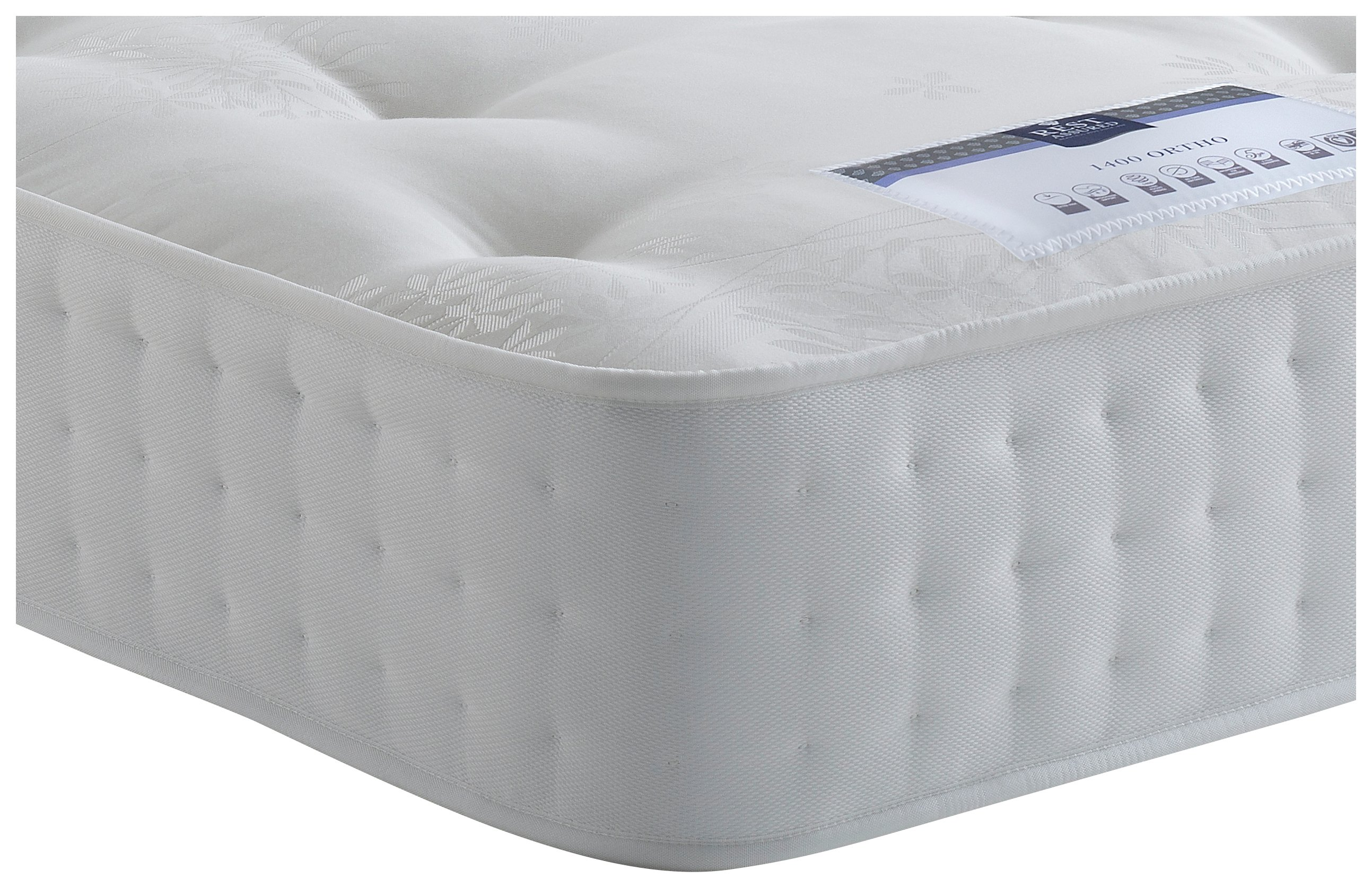 Rest Assured Irvine 1400 Pocket Ortho Single Mattress