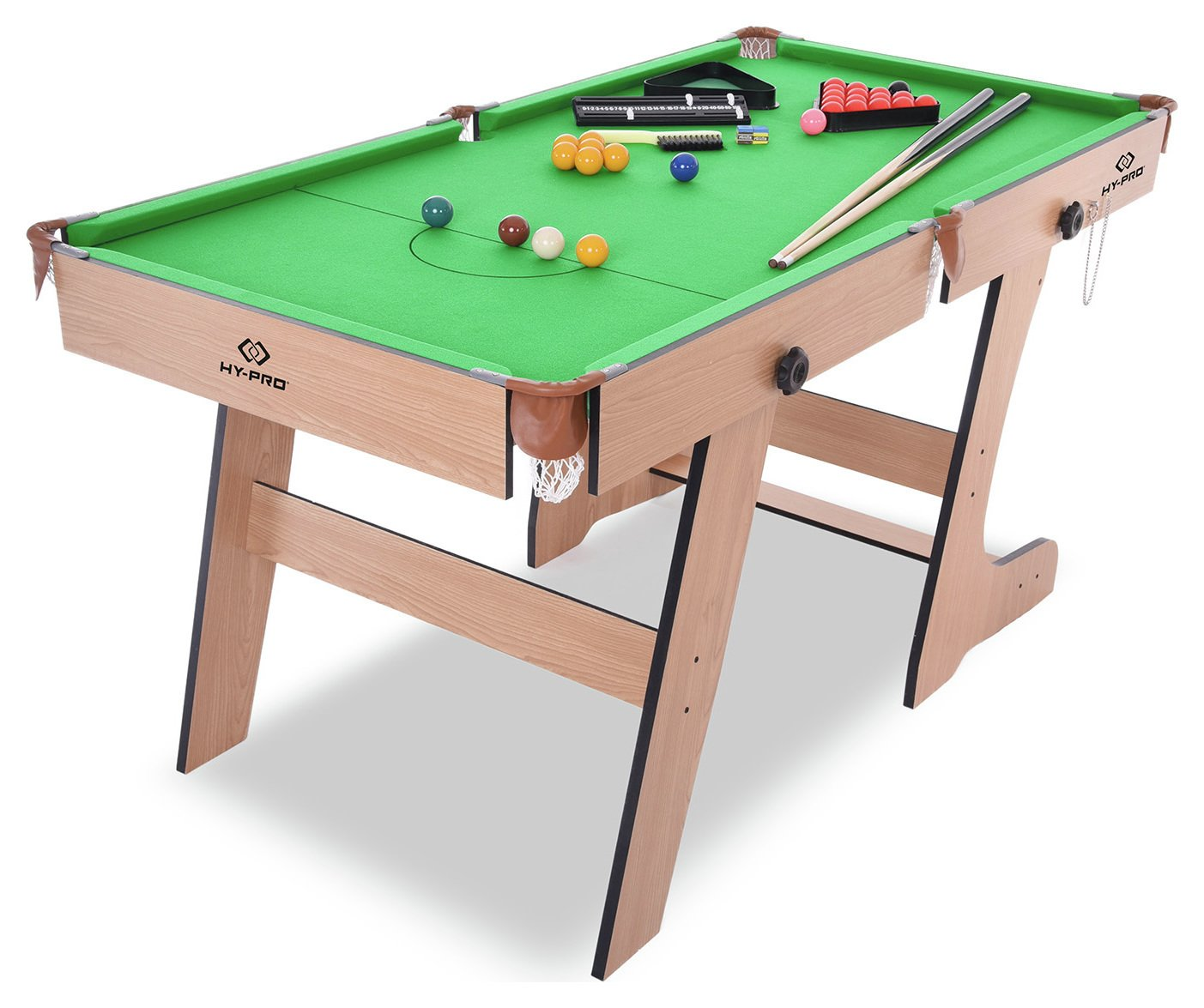 'Hypro - 6ft Folding Snooker And Pool Table