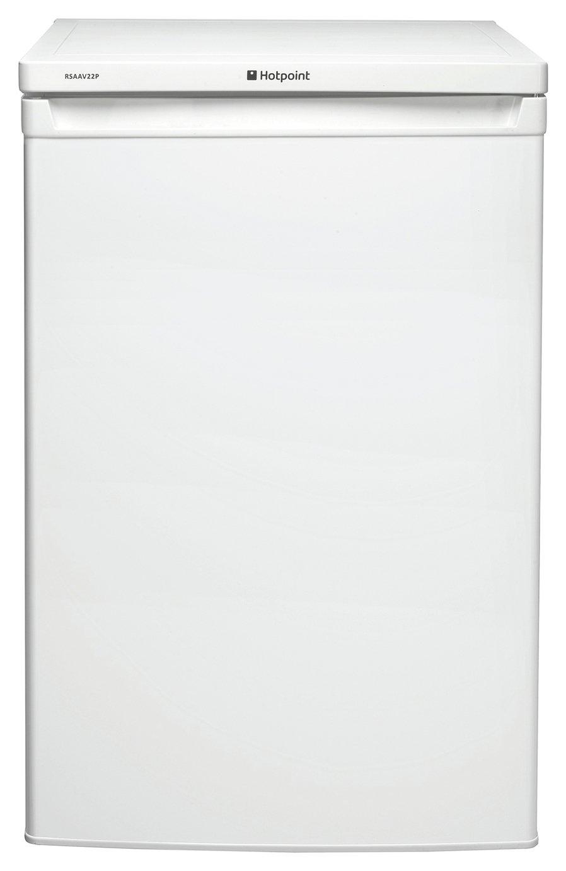 Image of Hotpoint RSAAV22P Under Counter Fridge - White/Ins/Del/Rec.