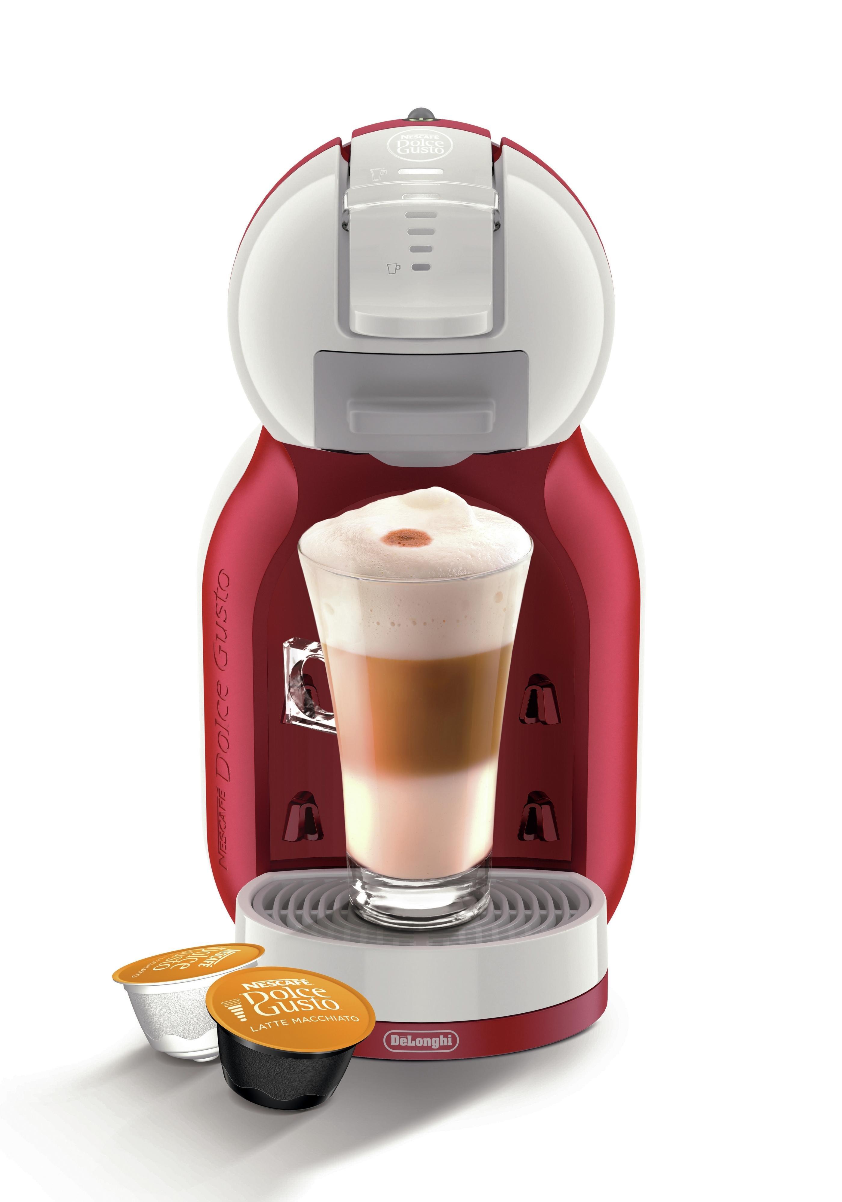 NESCAFE - Dolce Gusto Mini Me Automatic - Coffee Machine- Red