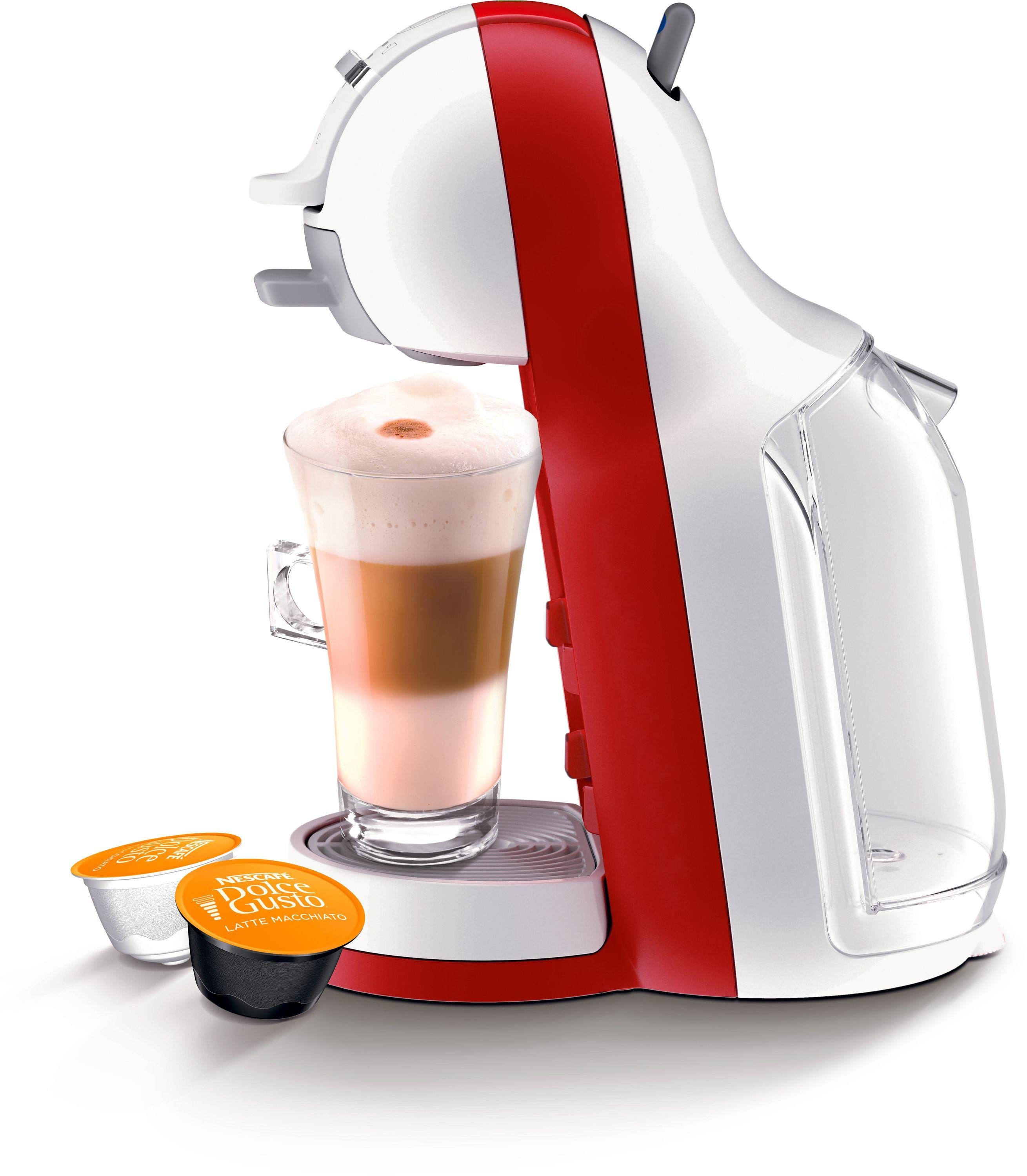 buy nescafe dolce gusto mini me automatic coffee machine - red at