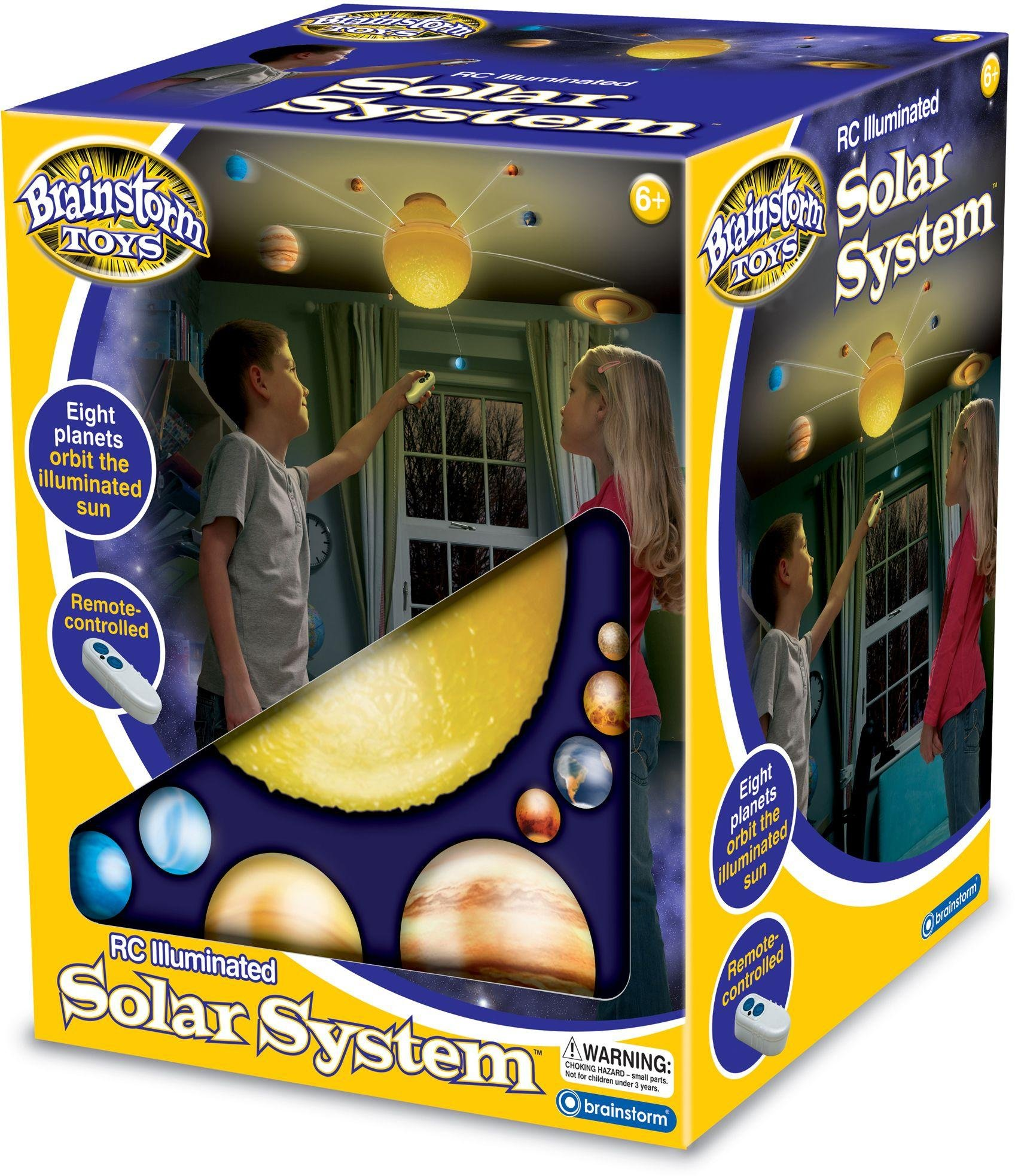 Image of Brainstorm Toys RC Illuminated Solar System.