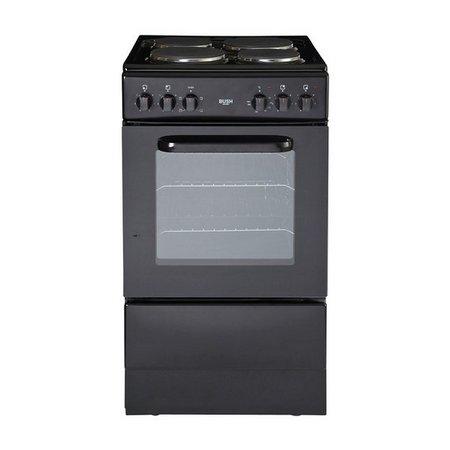 bush bes50b electric cooker black bush0 argos. Black Bedroom Furniture Sets. Home Design Ideas