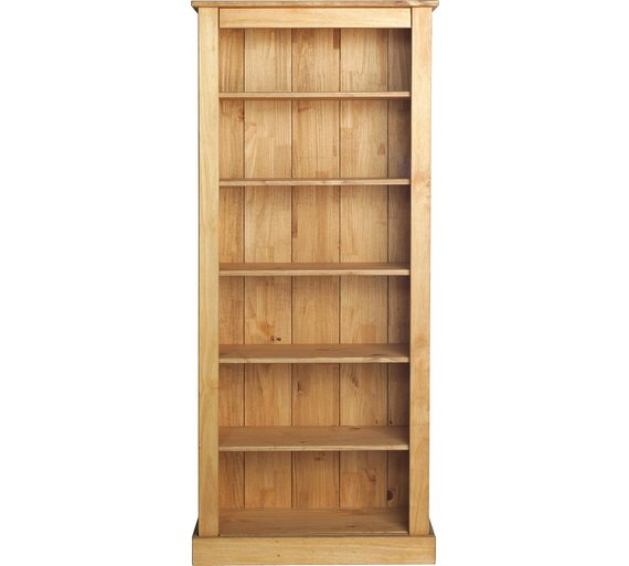 Collection Tall Wide Extra Deep Bookcase - Solid Pine228/6530 - Buy Collection Tall Wide Extra Deep Bookcase - Solid Pine At Argos