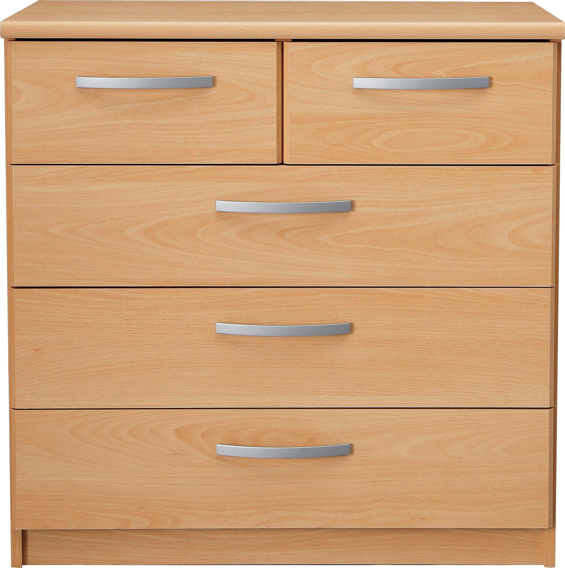 Collection Hallingford  Drawer Chest Beech Effect