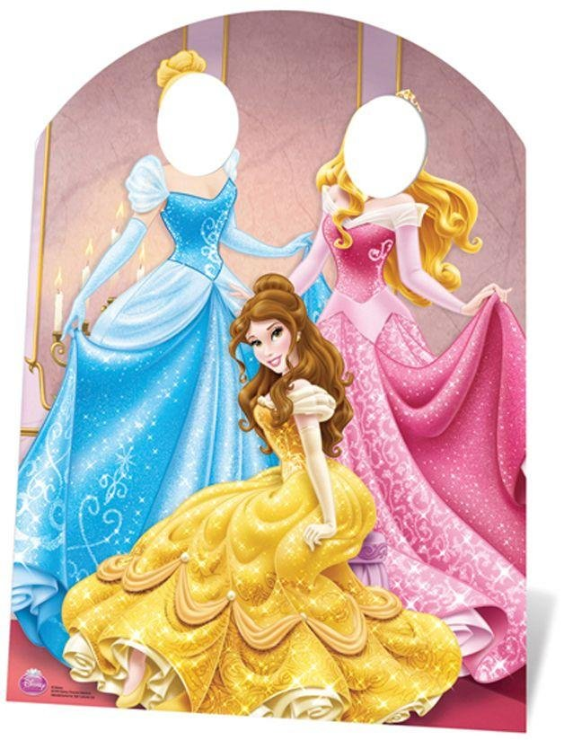 Image of Disney Princess Party Child-Sized Stand-In