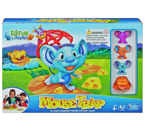 elefun and friends mousetrap instructions