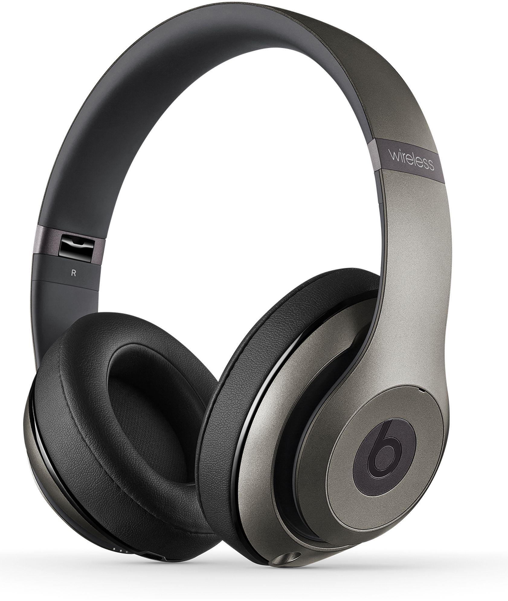 Beats - by Dre - Studio Wireless Headphones - Titanium