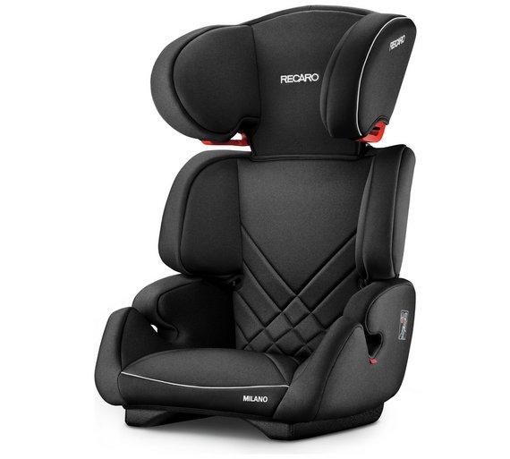 Buy Recaro Milano Group 2-3 Performance Black Car Seat | Travel | Argos