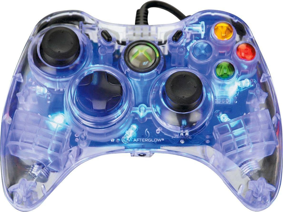 Xbox360 Wired Controller | Buy Afterglow Xbox 360 Wired Controller Blue Xbox 360