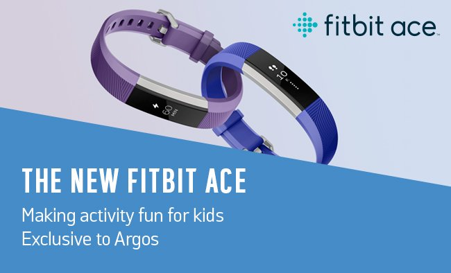 Making activity fun for kids. The new Fitbit Ace.