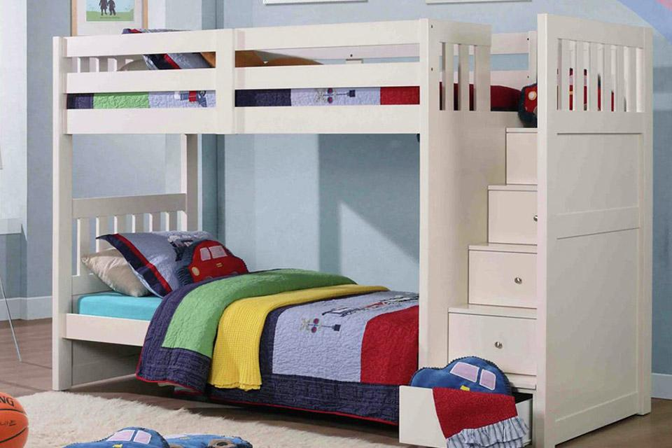 What is a bunk bed?