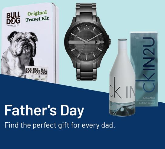Father's Day. Find the perfect gift for every dad.