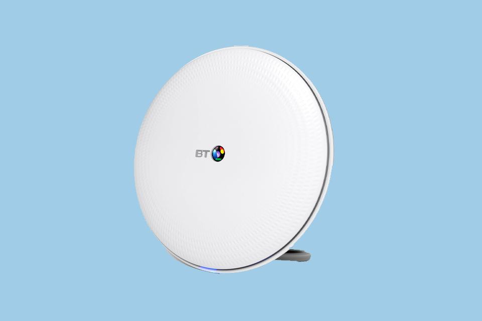 BT Whole Home Wi-Fi AC2600 Add-On Disc.