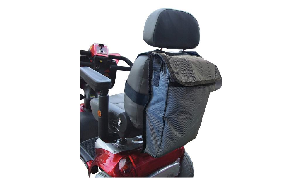 Mobility scooter bag.