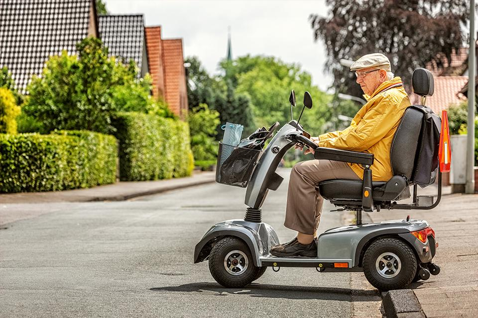 Where will you be driving your mobility scooter?