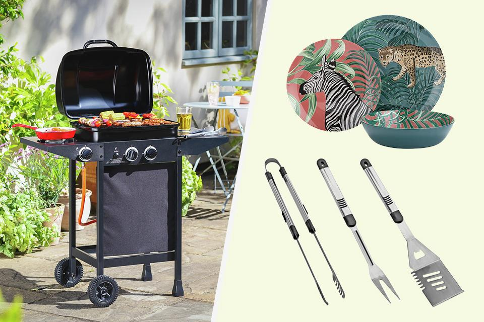 Garden celebration essentials.