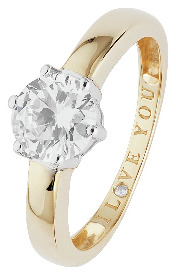 9-carat-gold-cubic-zirconia-i-love-you-solitaire-ring