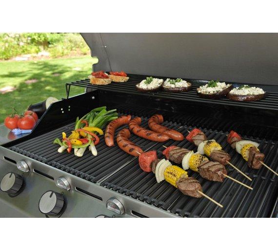 buy char broil t47g 4 burner gas bbq with side burner barbecues