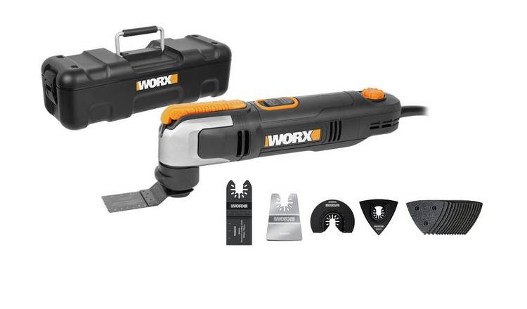 WORX WX686 Sonicrafter & Accessories