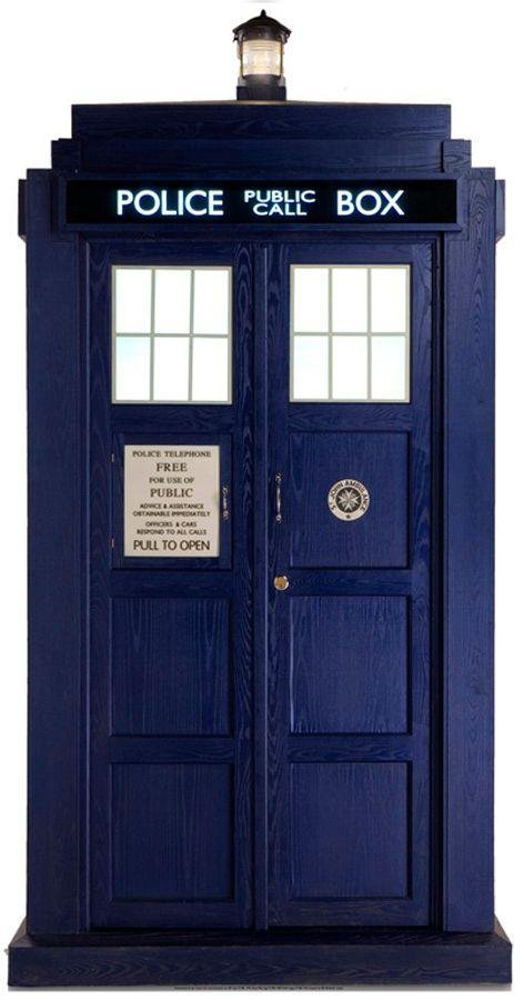 Image of Doctor Who Tardis Large Cutout