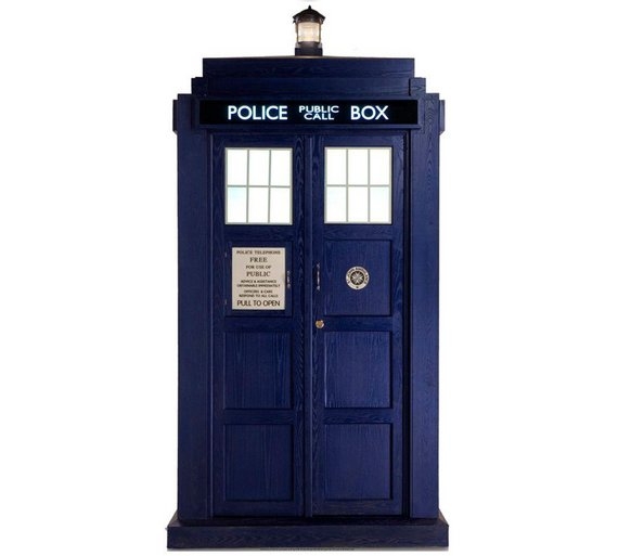 buy doctor who tardis large cutout party decorations argos