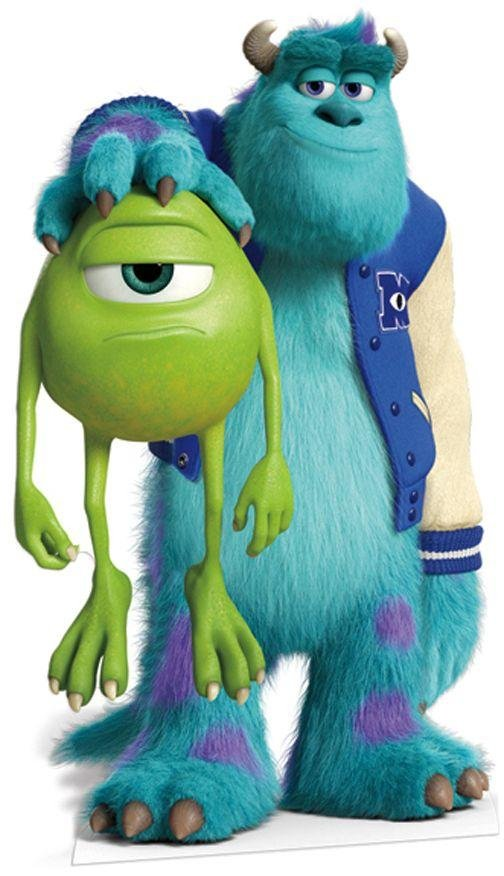 Image of Disney - Pixar Monsters University Life-Sized Cutout