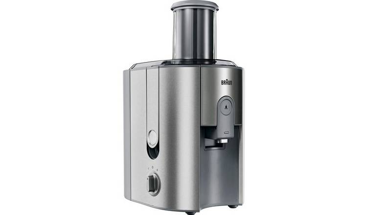 Buy Braun J700 Juicer Stainless Steel   Juicers and presses   Argos