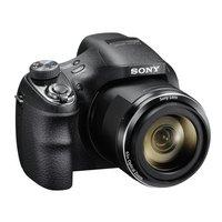 Sony - DSCH400 20MP 63x - Zoom - Bridge Camera - Black