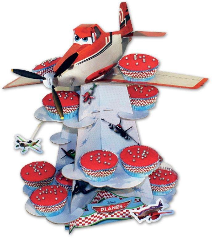 Disney - Planes - Cake Stand and 48 Cake Cases